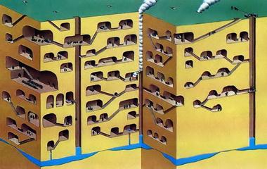 Подземные сооружения.