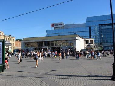 Станция метро Сенная площадь.