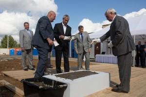 Капсула с посланием для потомков была заложена в фундамент нового научного центра в Петербурге