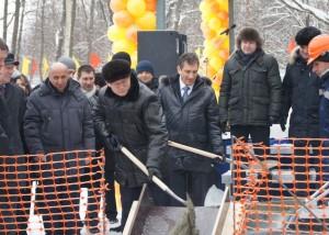 В Архангельске закладывают фундамент нового перинатального центра.
