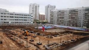 У нового ФОКа в Ульяновске уже появился фундамент
